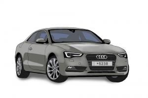 Audi A5 להשכרה